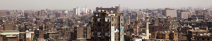 Cairo skyline during the day