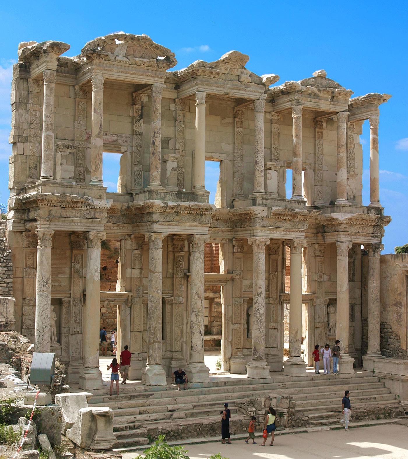 Efes'teki Celsus Kütüphanesi