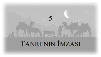 5. Tanri'nin İmzasi