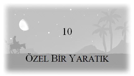 10. Özel Bir Yaratık